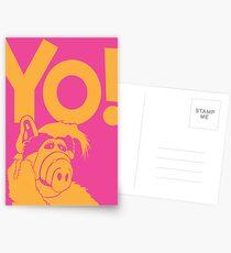 Alf says Yo! Postcards