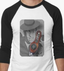 "♥•.¸¸.ஐ SECRET AGENT 86~MAXWELL SMART.. HELLO 99 PICK UP THE PHONE.. TEE SHIRT.. MY TRIBUTE TO "" MAXWELL SMART♥•.¸¸.ஐ Men's Baseball ¾ T-Shirt"