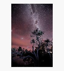 Milky Way over Boomers Bay  Photographic Print