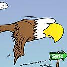 Aigle américain vols à destination de Syrie by Binary-Options