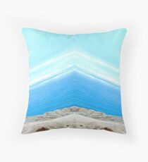 The Edge of the Earth Throw Pillow
