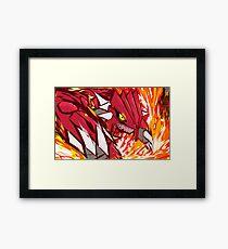Groudon | Eruption  Framed Print