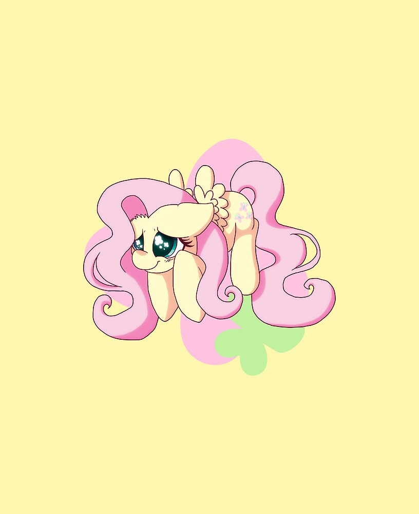 Chibi Flutter Shy by Ashley Nichols