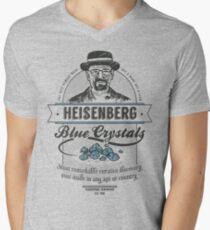 Blue Crystals Remedy Men's V-Neck T-Shirt