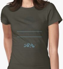 Blue Crystals Remedy Womens Fitted T-Shirt