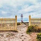 Port Fairy Lighthouse  (EH1) by Ray Warren