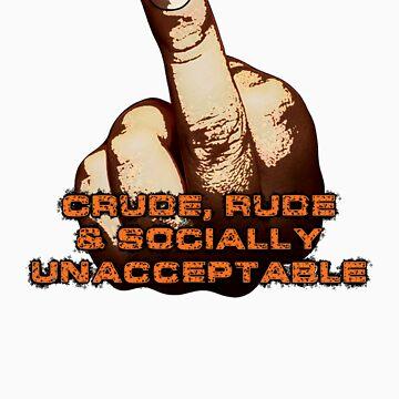 Crude, Rude & Socially Unacceptable by Giles