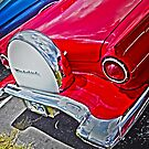 Cruisin Red T-Bird by designingjudy