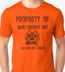Guantanamo Bay Detention Camp Slim Fit T-Shirt