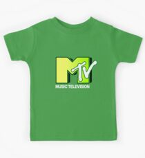 Green MTV Kids Tee