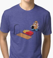 Toy Story Mr Potato Head Burying his dead Tri-blend T-Shirt