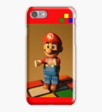 RubiksMario iPhone Case/Skin