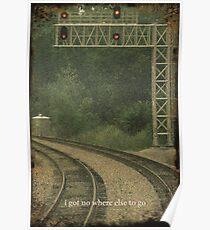 Railroad Track 3 Poster
