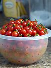 Cherry Tomatoes by FrankieCat