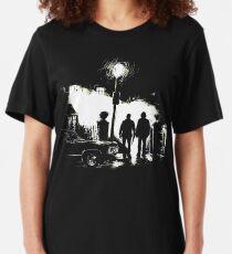 The Hunters (Supernatural) [No Text] Slim Fit T-Shirt