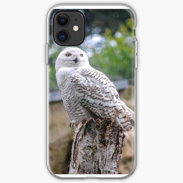 Snow owl  iPhone Flexible Hülle