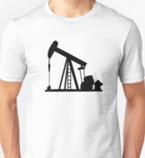 Oil Crane Pump Jack Unisex T-Shirt