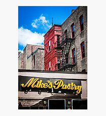 Mike's Pastry Photographic Print