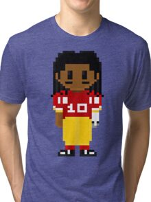 Robert Griffin III Full Body 8-Bit 3nigma Tri-blend T-Shirt