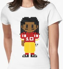 Robert Griffin III Full Body 8-Bit 3nigma Women's Fitted T-Shirt