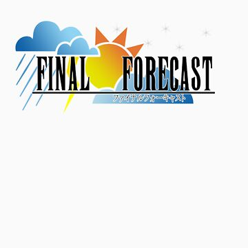 FINAL FORECAST: THE T-SHIRT by renotology