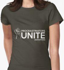 Procrastinators Unite Tomorrow Women's Fitted T-Shirt