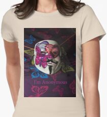 I'm Anonymous Womens Fitted T-Shirt