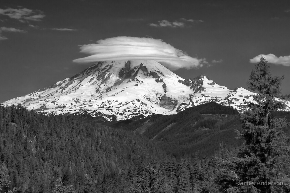 Sleeping Giant - BW by James Anderson