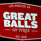 GREAT BALLS by Rebecca Dru
