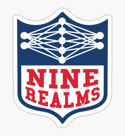 Nine Realms Conference Sticker