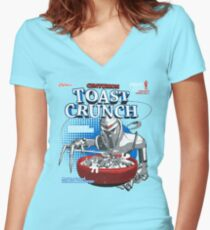 Centurion Toast Crunch Women's Fitted V-Neck T-Shirt