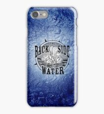 Back Side of Water (Black) iPhone Case/Skin