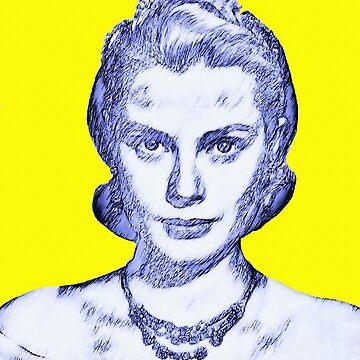 Grace Kelly by artcinemagaller