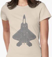 Lockheed Martin F-22 Raptor Women's Fitted T-Shirt