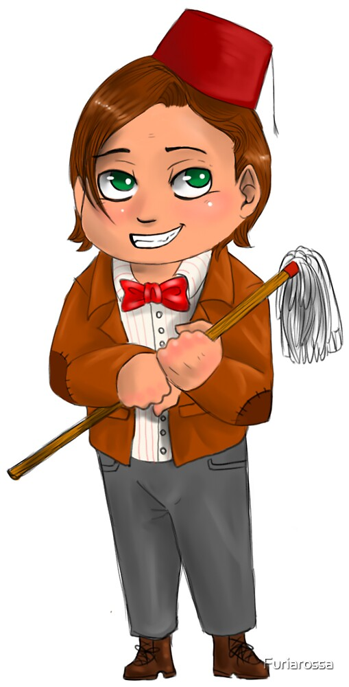 Chibi 11th Doctor by Furiarossa
