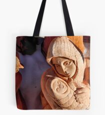 Pottery Fair Virgin Mary with Infant Jesus Tote Bag