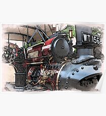 Traction Engine - 2 Poster