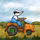 Badger by Rencha