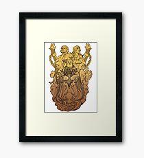 The Pantheon Framed Print
