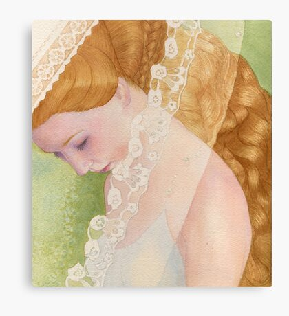 Apple pastila Canvas Print