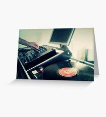 Vinyls Greeting Card