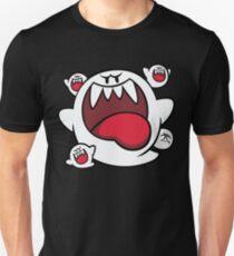 Super Mario - Boo Kader Unisex T-Shirt