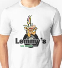 Mario Kart 8 Lemmy's Tire Service Square T-Shirt