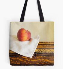 Fresh ripe peach Tote Bag
