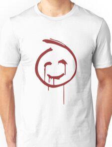 Red John Smiley Face   Unisex T-Shirt