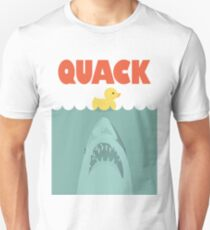 Jaws Rubber Duck 'Quack'  T-Shirt