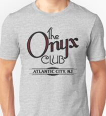 Boardwalk Empire Inspired - The Onyx Club - 1920s Atlantic City - Prohibition Era Jazz Club - Nucky Thompson Unisex T-Shirt