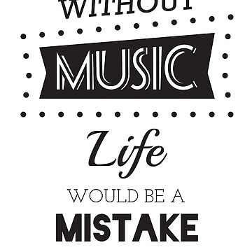 Music Quotes Typography by yosard