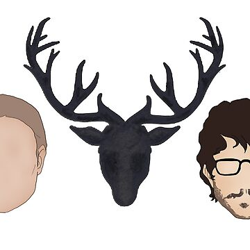 Hannibal graphic heads by pthulin