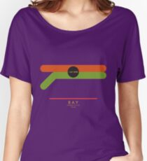 Bay-Yorkville 1966 station Women's Relaxed Fit T-Shirt